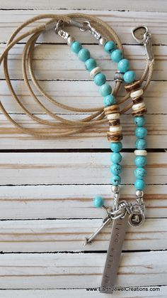 Inspirational affirmation energy combined with Turquoise gemstone energy. Handmade in Noosa, Australia. Vegan, Turquoise Gemstone, Gemstone Necklace, Crystal Jewelry, Gemstones, Inspiration, Jewellery, Crystals, Bracelets