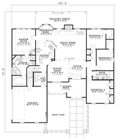5 bedrooms - 69107 //www.dreamhomesource.com/house-plans/dhs ... on fireplace designs, 2 bedroom home designs, modern kitchen designs, 5 bedroom prefabricated homes, 6 bedroom home designs, 4 bedroom home designs, one bedroom home designs, 3 bedroom home designs, 5 bedroom prefab homes, 7 bedroom home designs, 5 bedroom plans,