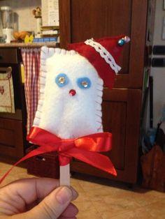 gelato natalizio in panno di lana
