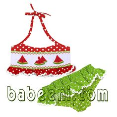 Hot smocked swimwear for hot girls .  Many new designs and colours for your baby angle at : www.babeeni.com