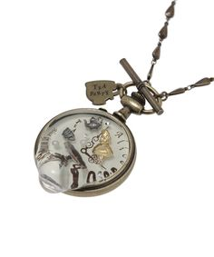 Alice / Mel tea pocket watch necklace 28,000-yen http://www.q-pot.jp/shop/products/detail.php?product_id=1126