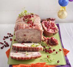 Pork and chicken terrine