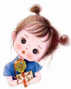Girl Cartoon Characters, Cartoon Girl Images, Cute Cartoon Pictures, Cute Cartoon Girl, Cute Love Cartoons, Cute Girl Wallpaper, Cute Disney Wallpaper, Cute Cartoon Wallpapers, Cartoon Drawings