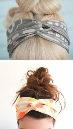 Twisted Turban Headband - DIY