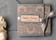 invitaciones boda elegantes modernas - Buscar con Google