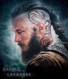 'Ragnar Lothbrok ' Poster by Fattanirvana Ragnar Lothbrok Vikings, Vikings Tv, Ragnar Lothbrok Haircut, Viking Life, Viking Warrior, Viking Haircut, Filipino Tattoos, Marquesan Tattoos, Travis Fimmel