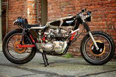Triumph Trident Cafe Racer