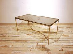 グラストップコーヒーテーブル NF000019