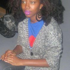 Fatou in Paris // Natural Hair Style Icon