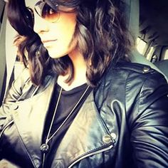 Consumed with hair envy for these rocking waves on Daniela Ruah. #T3Micro #T3Hair