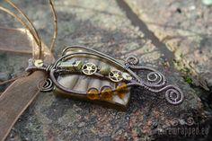 Glass, stone, wire