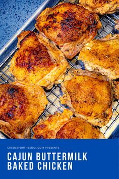 Extremely moist and spicy with crispy skin, these will be the most flavorful baked chicken thighs of your life!