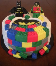 Batman Lego Cake. i seriously want this for my birthday....