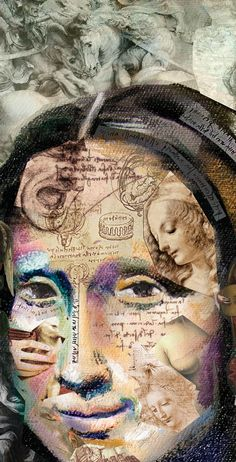 """Through a proposal of agency """"Communication Tif"""" the Studio Alopra was invited to develop reinterpretations of famous Da Vinci´s painting, for Graphic Mona Lisa's digital campaign."""
