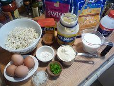 10 Simple ingredients for crab pie
