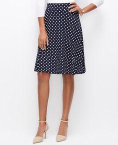Polka Dot Skirt | Ann Taylor