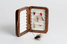 7 Personalized Fly Fishing Box Father's Day Gift by EngravingPro, $274.75  Cam would love this