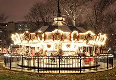 Myriad Gardens to feature carousel for the holidays; looks to the future   OKCTalk