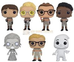 Funko POP! Movies Ghostbusters 2016 Bundle Vinyl Figures