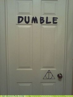 Harry Potter humor - if you don't get this we aren't friends