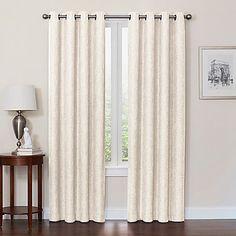 Quinn Grommet Top 100% Blackout Window Curtain Panel