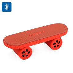 rogeriodemetrio.com: LED Bluetooth Skateboard Speaker