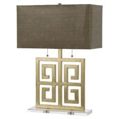 I pinned this Santorini Table Lamp in Brown from the AF Lighting event at Joss and Main!
