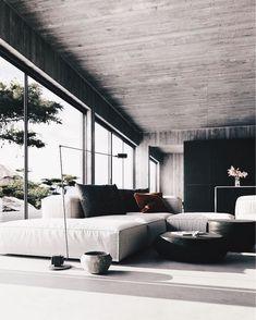 24 Minimalist Home Interior Design Interior Design Examples, Interior Design Inspiration, Home Interior Design, Interior Ideas, Loft Interior, Living Room Interior, Interior Architecture, Interior Livingroom, Casa Kardashian