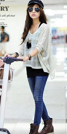 Ready, Jetset, Go | Airport Appropriate Attire « THE YESSTYLIST – Asian Fashion Blog – brought to you by YesStyle.com