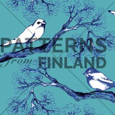 Treetop by Ilana Vähätupa   #patternsfromagency #patternsfromfinland #pattern #patterndesign #surfacedesign #printdesign #ilanavahatupa