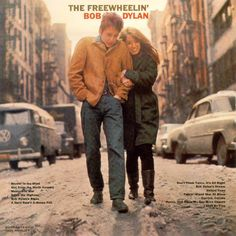Carátula Frontal de Bob Dylan - The Freewheelin'