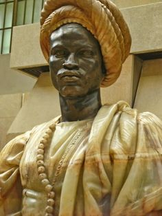 Moorish King By Charles Cordier French 1857 CE bronze and onyx. Love orientalist art, which often features men in turbans. Goldscheider, African History, African Art, Statues, African Sculptures, By Any Means Necessary, Black History Facts, Strange History, Afro Art