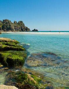 Porthcurno Cornwall: one of the best beaches in the UK