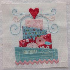 Birthday bonus block for The Splendid Sampler Quilt