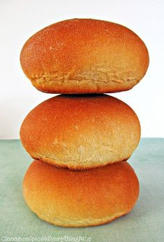 Easy Homemade Hamburger Rolls