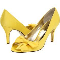 Yellow pumps