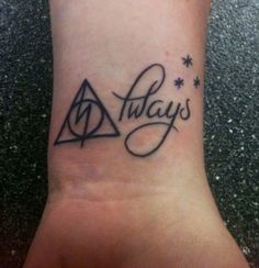 If I were to get a Harry Potter tattoo (which I personally wouldn't), this would without a doubt be it.