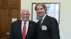 Congressman John Carter 31st District - Round Rock Texas and Dr. Kaylen SIlverberg
