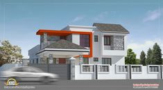 Modern house design in Chennai - 2600 Sq. Ft. (242 Sq. M.) (289 Square Yards) - March 2012