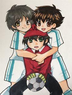 Captain Tsubasa, Good Soccer Players, Kawaii, Series 3, Fujoshi, Toy Story, Anime, Fan Art, Cartoon