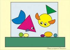 Картинки по запросу рисунки из геометрических фигур