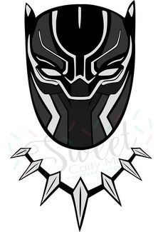 Black Panther Character Art amp