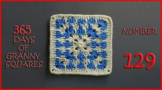Written Pattern: http://www.ravelry.com/patterns/library/barnaby-2 Hashtag #YARNutopia and #365DaysofGrannySquares in your photos!! View all Granny Squares: ...