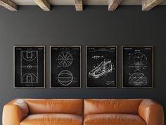 Basket Sport, Basketball Posters, Basketball Hoop, Basketball Coach, Custom Vinyl Lettering, Vinyl Decor, Wall Decor, Digital Print, Football Art
