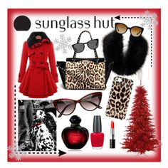 Celebrate in Every Shade with Sunglass Hut: Contest Entry - summerocha.Polyvore featuring #Valentino, #KateSpade, #ChristianDior, #OPI, #BobbiBrownCosmetics, #PoloRalphLauren, #Versace, #SunglassHutContest