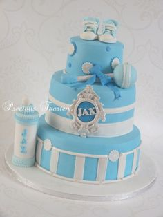 babyschower cake for Jax