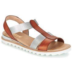 Chaussures Femme Sandales et Nu-pieds Nome Footwear DRESCO Argenté. So Size  GOPINETTE Carmel argent - Chaussure pas cher avec Shoes.fr ! - Chaussures