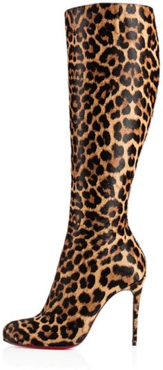 Christian Louboutin Fifi Botta in Animal (leopard).