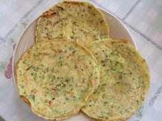 Finti pancakes di ceci 150 g di farina di ceci acqua qb 1 zucchina grattugiata sale spezie (a vostro piacimento)– Cruelty Free