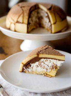 Zuccotto...Italian dessert....grandma use to make this for me....yum!!